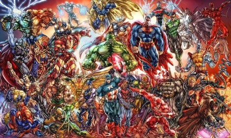 Marvel vs. DC rivalry?